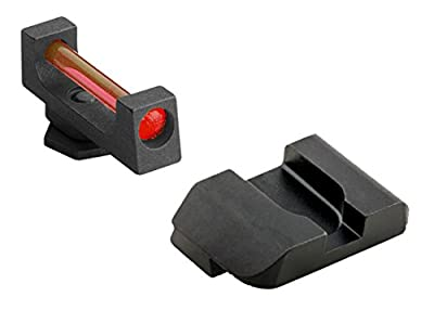 Ultimate Arms Gear GFB-103 Glock 17,19,22,23,24,26,27,33,34,35,37,38,39 Fiber Front And Rear from Ultimate Arms Gear