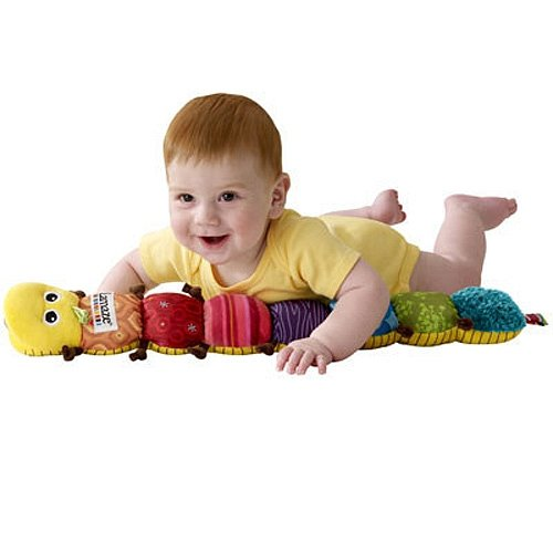 The Musical Inchworm is great for tummy time.