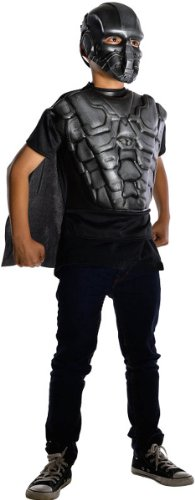 Superman Man Of Steel General Zod Muscle Chest Costume Top Child