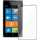 Luxmo Clear LCD Film Guard Screen Protector for AT&T Nokia Lumia 900 x3 -Clear