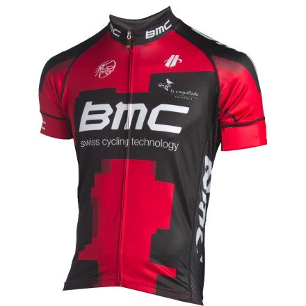 Buy Low Price Hincapie Sportswear 2012 BMC Team Short Sleeve Jersey (B007ADQ8RO)