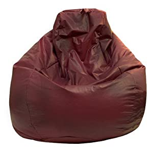 Fashion Large Vinyl Teardrop Bean Bag Chair from Hudson Industries Inc