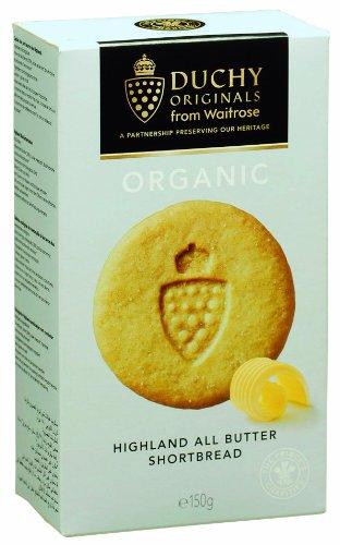 Duchy Originals All Butter Shortbread (150G) All Butter Organic Added Sugar