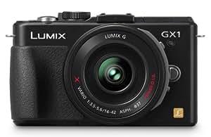 Panasonic Lumix DMC-GX1X 16 MP Micro 4/3 Mirrorless Digital Camera, 3-Inch LCD Touch Screen and 14-42mm X Power Zoom Lens (Black)