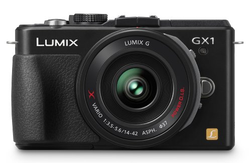 Panasonic Lumix DMC-GX1 (with 14-42mm Lens) is one of the Best Compact Point and Shoot Digital Cameras for Action Photos Under $1000