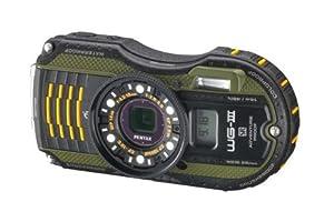 Pentax WG-3 GPS Appareil Photo Numérique 16 Mpix Zoom optique 4x Etanche Vert