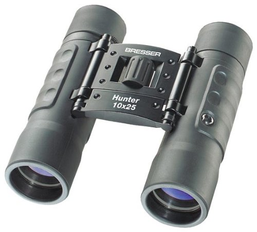 Bresser Hunter 1111025 10 x 25 Binocular BlackB0006H4ATE
