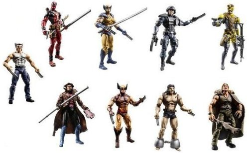 Buy Low Price Hasbro X Men Origins Wolverine Series 1 Action Figure Set (B0023AAOTW)