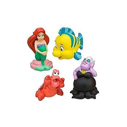 Disney Parks Little Mermaid Bath Toys Set of 4 - Disney Parks Exclusive & Limited Availability