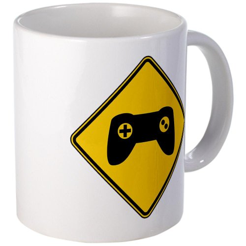 Cafepress Warning : Gamer Mug - Standard