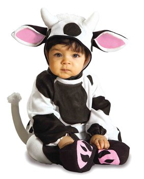 Kostüm Kuh Kuhkostüm Baby Babykostüm Tierkostüm Overall