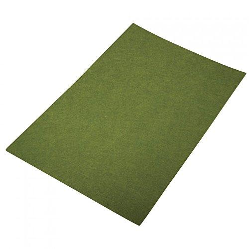 Rayher Hobby 5364884 tela fieltro, 75 x 50 x 0,3 cm, verde antiguo