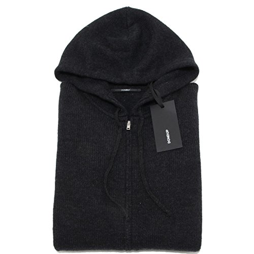 0034N maglione uomo DONDUP grigio lana sweater men [S]