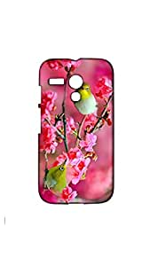 Two Love Birds On The Tree Mobile Case/Cover For Moto G