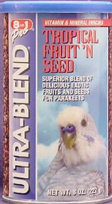 Cheap Eight in One Products A508 Parakeet Fruit n Seed 8oz (A508)