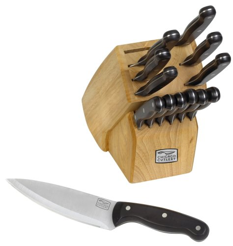 Chicago Cutlery Classic Chef 14-Piece Knife Block Set