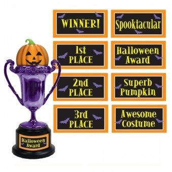 Halloween Party Multi - Label Halloween Trophy