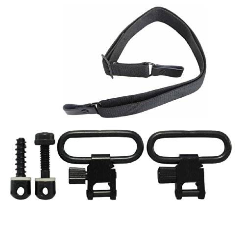 Great Deal! Ultimate Arms Gear Heavy Duty Set of Two QD Quick Detach Black Steel 1 (1 Inch) Slot Lo...