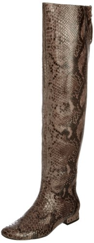 Bourne Women's Jules Smoke Knee High Boots L00389 5 UK