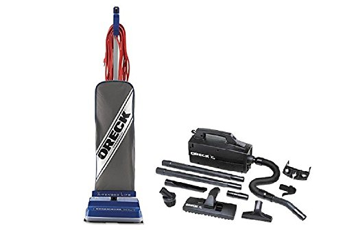 Oreck Commercial XL2100RHS Power Bundle with Oreck Super Deluxe Compact Vac - BB880AD (Oreck Deluxe Canister Vacuum compare prices)