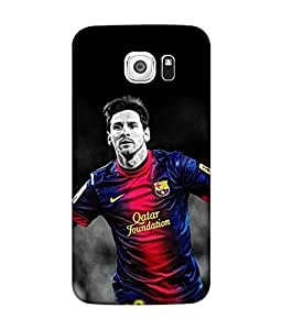 small candy 3D Printed Back Cover For Samsung Galaxy S6 -Multicolor messi