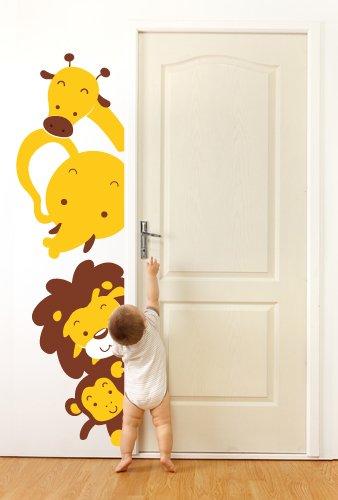 Adesivi Creativi, Adesivo murale Animaletti affacciati