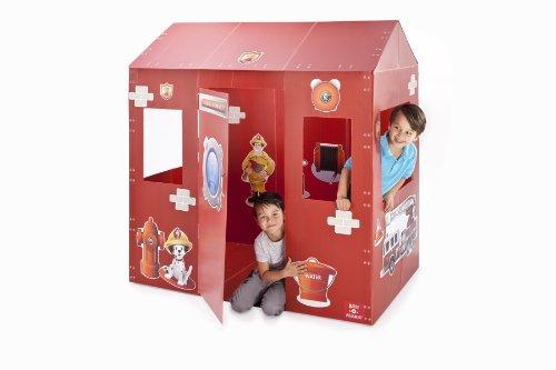 Box-o-Mania Fire Station No7 Play Box Kit