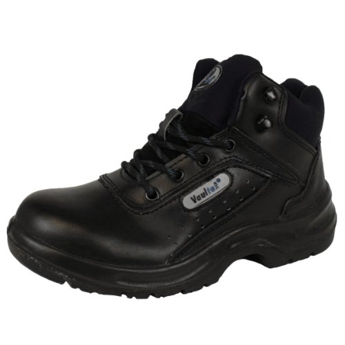 womens leather combat tactical safety shoes ankle boots