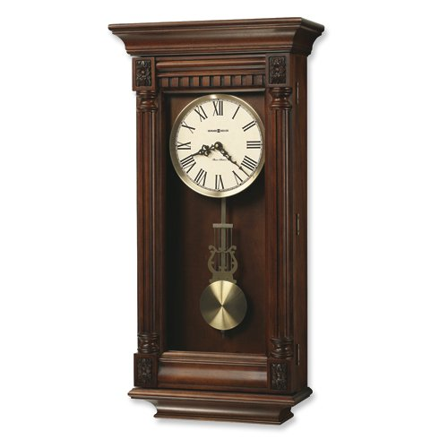 Lewisburg Cherry Finish Quartz Wall Clock