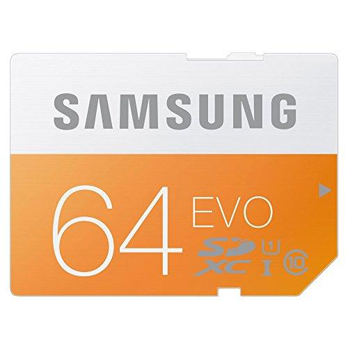 日本サムスン正規品 SAMSUNG EVO SDXCカード 64GB 防水 耐衝撃 UHS-I Class10 最大転送速度48MB/s 10年保証 MB-SP64D/FFP (FFP)