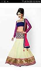 Shree Fashion Women's Shree Fashion Women's wedding gown Georgette