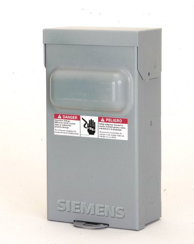 Siemens WF2030 30 Amp Fusible AC Disconnect