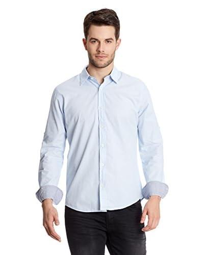 Collezione Camicia Uomo [Blu]