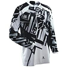 Thor Motocross Phase Slab Jersey - 3X-Large/Black