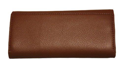 MICHAEL Michael KorsMichael Kors Fulton Luggage Leather Flap Continental Wallet Bag Handbag Purse