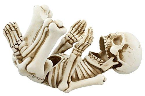 Skeleton Body Guzzler Wine Holder Statue Figurine