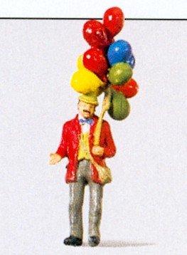 Preiser 29000 Man Selling Balloons - 1