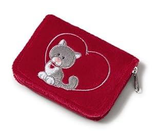 Nici 34976 - Geldbeutel Love Katze, 10.5 x 8 x 1.5 cm