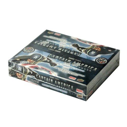 キャプテンアメリカ トレーディングカード リテイル版 16パック入 ボックス【映画カード】