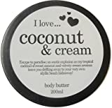 I Love Coconut & Cream Body Butter 200ml