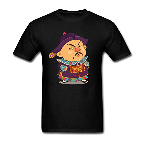 [7SevenSix Men's Funny Chinese People In Costumes Short Sleeve T shirt S] (Matt Barkley Costume)