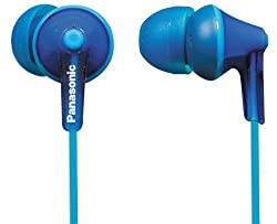 Panasonic RP-HJE125E-A In-Ear Canal insidephone for Ipod/MP3 player( Blue)