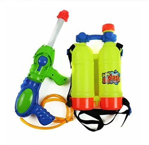 Children Activity Playset Pressure Water Gun Super Soaking Fire Hose with Backpack Child - One Size (Fire Hose Super Soaker compare prices)