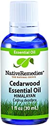 Native Remedies Cedarwood Essential Oil