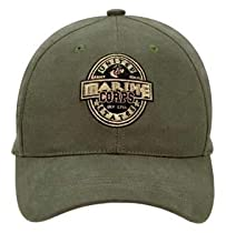 Rothco Marine Corps Label Low Profile Cap, Olive Drab