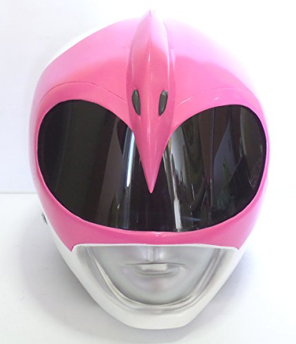 Costume Helmet 1/1 Scale Life-Size !! Mighty Morphin Power Rangers PINK RANGER Cosplay Mask Props Collectible (Pink Power Ranger Helmet compare prices)
