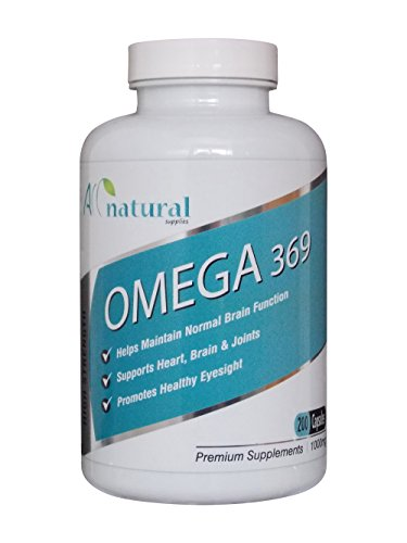 all-natural-omega-3-6-9-pack-of-200-1000mg-high-strength-liquid-softgels-from-only-1099-free-deliver