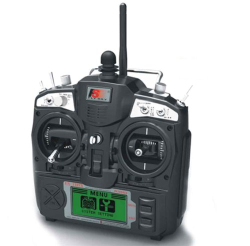 Fly Sky 2.4 G Hz 9 Channel Digital Transmitter And Receiver Radio System