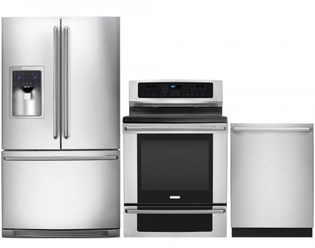 Electrolux IQ-Touch 3-Piece Stainless Steel Kitchen Package with EI28BS65KS 36