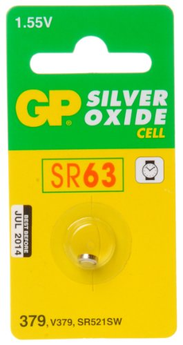 GP Batteries Pile bouton 379 oxyde d'argent
